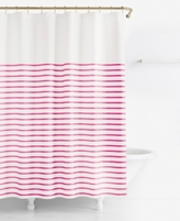 Kate Spade Harbour Stripe Shower Curtain