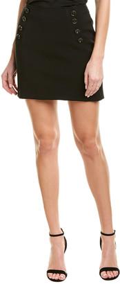 Bailey 44 Button-Front Mini Skirt
