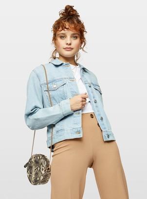 Miss Selfridge Light Blue Denim Jacket