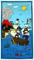 Dolce & Gabbana Pirates Print Cotton Beach Towel