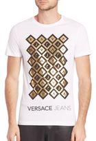 Versace VJ Geometric Foil Tee