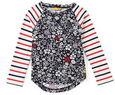 Joules Little Girls 3-6 Mishmash Floral Top