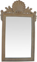 One Kings Lane Vintage Italian Hand-Carved Shell Wall Mirror