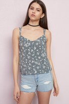 Garage Button-Front Cami