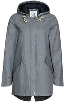 Seasalt RAIN® Collection Bowsprit Waterproof Coat, Pontoon Squid Ink