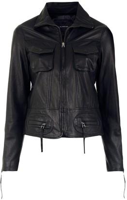 Olympiah Arcadio leather jacket