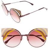 Fendi Women's Hypnoshine 53Mm Cat Eye Sunglasses - Matte Turquoise