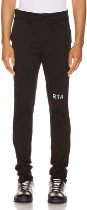 RtA Trouser in Black   FWRD