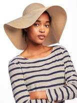 Old Navy Floppy Straw Sun Hat for Women