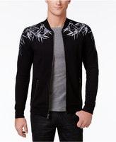 INC International Concepts Men's Zip-Front Embroidered Bomber Jacket, Only at Macy's