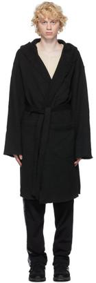 Engineered Garments Black Knit Robe