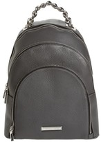 KENDALL + KYLIE Sloane Leather Backpack - Grey
