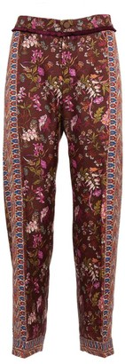 F.R.S For Restless Sleepers Floral Silk Trousers