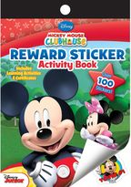 Disney Mickey Mouse Clubhouse Reward Sticker Activity Book