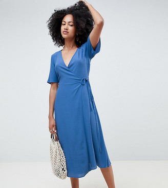 New Look Midi Wrap Dress