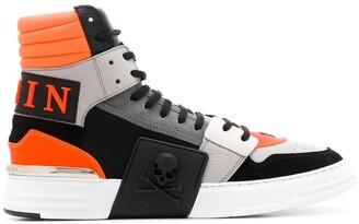 Philipp Plein High Top Phantom Kick Sneakers