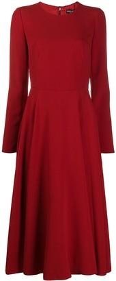 Dolce & Gabbana Longuette Godet Dress