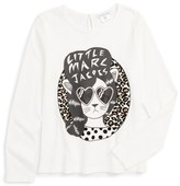 Little Marc Jacobs 'Essential' Graphic Tee (Toddler Girls, Little Girls & Big Girls)