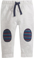 First Impressions Pull-On Knee-Patch Jogger Pants, Baby Boys (0-24 months), Created for Macy's