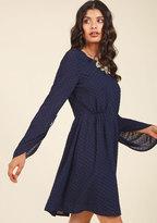 Nostalgic Inclination A-Line Dress in L