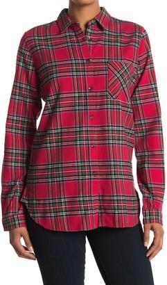 Thread and Supply Tartan Plaid Flannel Shirt