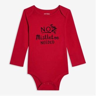 Joe Fresh Baby Boys' Graphic Bodysuit, Red (Size 3-6)
