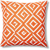 Dransfield and Ross Cabana 24x24 Outdoor Pillow - Orange