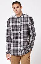 Globe Camden Plaid Flannel Long Sleeve Button Up Shacket