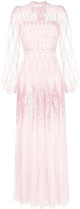 Temperley London Gene sequin-embellished dress