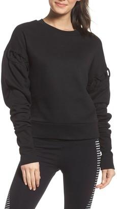 Alo Lattice Long Sleeve Pullover