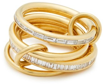 Spinelli Kilcollin Lehmus Diamond & 18kt-gold Ring - Gold