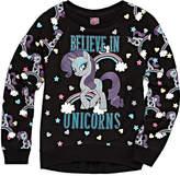 My Little Pony Crew Neck Long Sleeve Blouse - Big Kid Girls