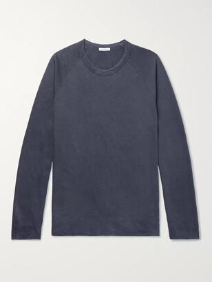 James Perse Loopback Supima Cotton-Jersey Sweatshirt