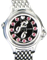 Fendi Crazy Carats Black Diamond Multi Color Gems Dial 33mm Watch