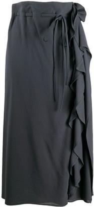 Lemaire Ruffle Detail Skirt