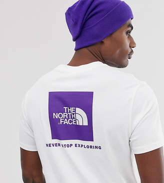The North Face Red Box t-shirt in white Exclusive at ASOS
