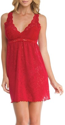 Arianne Women's Natasha Lace Chemise 32 Inch Removable Pads and Adjustable Straps