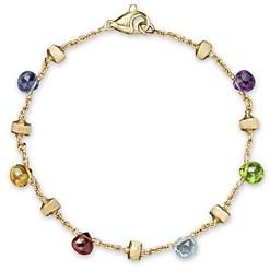 Marco Bicego Paradise Mixed-Gemstones Bracelet