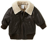 Starting Out Baby Boys 3-24 Months Hooded Aviator Jacket