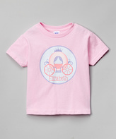 Swag Pink Carriage Personalized Tee - Infant Toddler & Girls