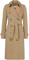 Burberry Two-tone Cotton Gabardine Trench Coat