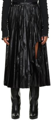 Toga Black Enamel Coating Skirt