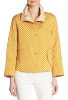 Akris Punto Punto Dot Reversible Jacket