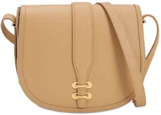 Alberta Ferretti Albi Leather Shoulder Bag