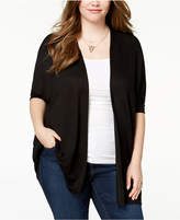 Celebrity Pink Plus Size Open-Front Cardigan