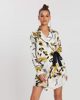 Missguided Floral Blazer Dress