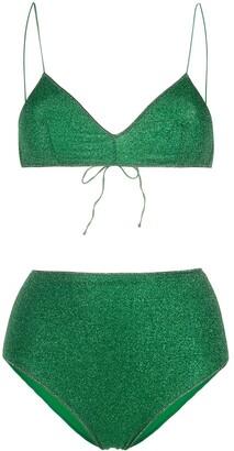 Oseree Lumiere high-waisted bikini