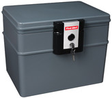 First Alert Waterproof/Fireproof File Safe with Key Lock Wheels: No