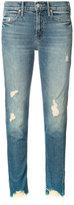 Mother distressed jeans - women - Cotton/Spandex/Elastane - 24