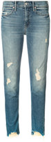 Mother distressed jeans